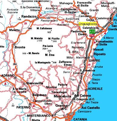 Cartina Ferroviaria Sicilia.Come Raggiungerci Base Scout Piana Dell Arrigo Linguaglossa Ct Sicilia